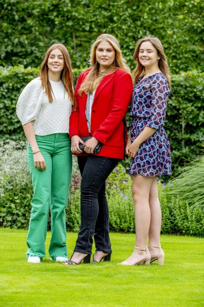 Princesas Amalia, Alexia y Ariane de Holanda