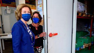 La Reina Sofía visita el Banco de Alimentos de Santander/Gtres