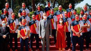 Los Reyes han recibido en audiencia a una representación del equipo olímpico español que participará en los Juegos Olímpicos de Tokio / Casa Real