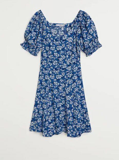 El vestido de Leonor y otros 5 vestidos en oferta en Mango Outlet por 8 euros