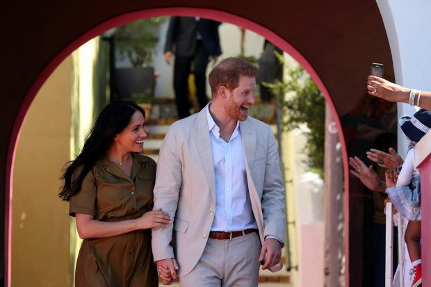 El príncipe Harry y Meghan Markle en una imagen de archivo./Gtres