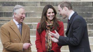 Los duques de Cambridge y el príncipe de Gales / Gtres