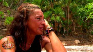 Olga Moreno se rompe antes de la gran final de 'Supervivientes'/Telecinco