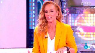 Rocío Carrasco vuelve a 'Sálvame' y responde a Amador Mohedano y a Olga Moreno/Telecinco