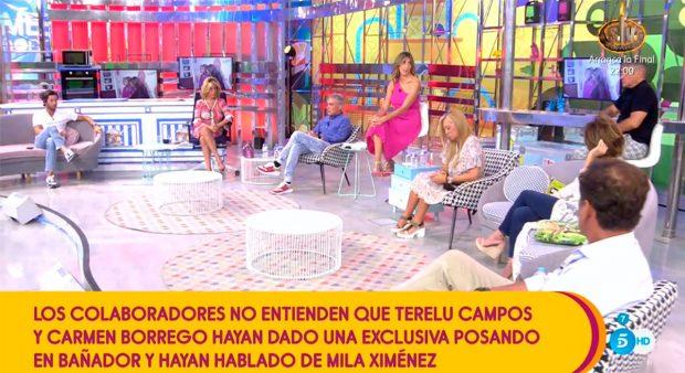 Kiko Hernánez, Lydia Lozano, Belén Esteban, Paz Padilla, María Patiño