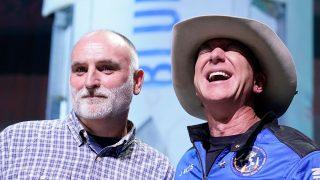 La millonaria donación de Jeff Bezos al chef José Andrés tras su viaje espacial/Gtres