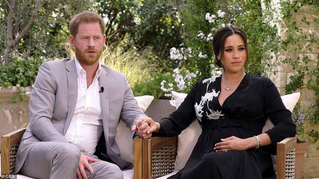 Duques de Sussex, Oprah Winfrey