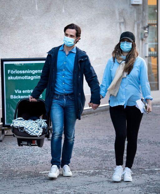 Carlos y Sofía de Suecia