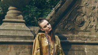 Zara te convierte en una geisha con un kimono vestido sostenible y simbólico