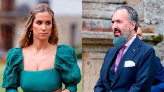 María Pombo y Jaime de Marichalar en la boda de Lucía Bárcena y Marco Juncadella/Gtres