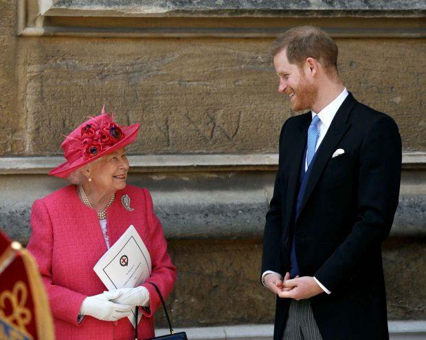 Reina Isabel II, Príncipe Harry