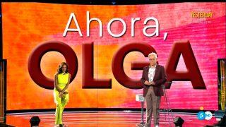 Olga Moreno se sienta este miércoles en Telecinco / Telecinco