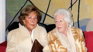 Marisol del Valle junto a su hermana mayor, Menchu / Gtres