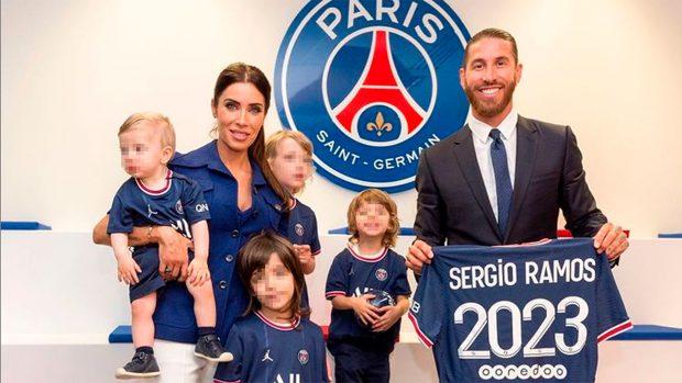 Sergio Ramos y su familia / Instagram