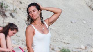 Nagore Robles, durante sus vacaciones de verano / Gtres