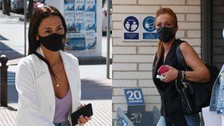 Rocío Carrasco y Olga Moreno en un montaje de Look