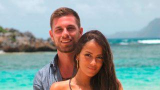 Tom y Melyssa en una imagen promocional de 'La isla de las tentaciones' / Telecinco