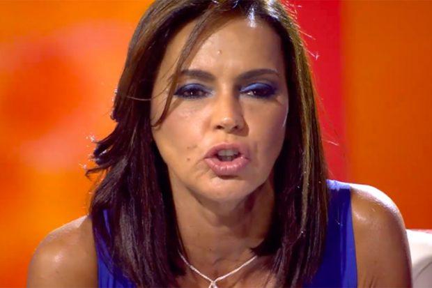 Olga Moreno durante la entrevista que concedió en el especial 'Ahora, Olga'./Telecinco