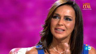 Olga Moreno durante la entrevista / Telecinco