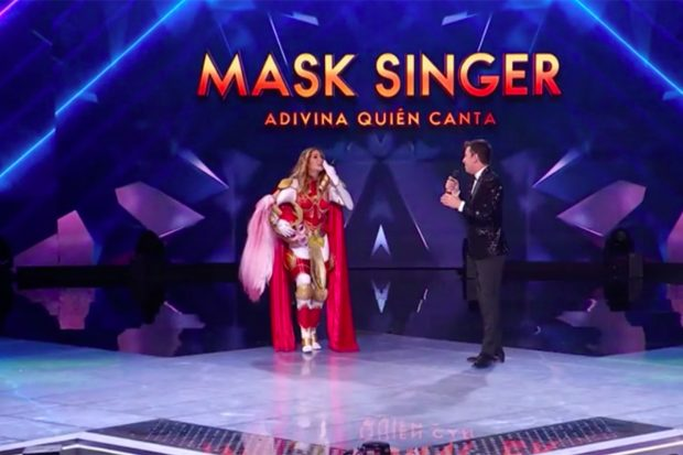 Tamara Gorro en 'Mask Singer'./Antena 3