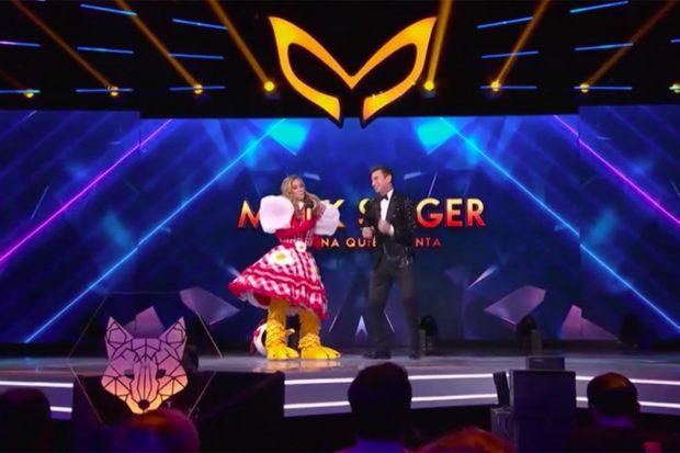 María Pombo en 'Mask Singer'./Antena 3