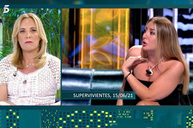 Belén Rodríguez en 'Viernes Deluxe'./Telecinco