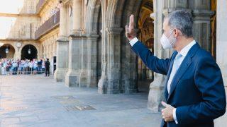 El rey Felipe durante la visita a Salamanca / Casa de S.M. el Rey