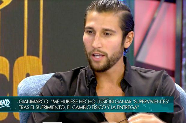 Gianmarco quedó segundo finalista en la final de 'Supervivientes 2021'./Telecinco