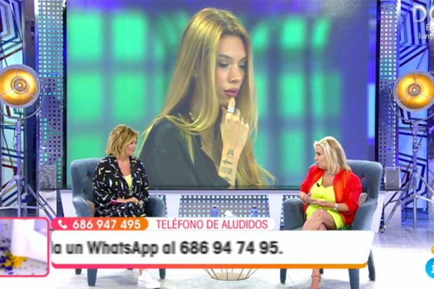 Carmen Borrego y Toñi Moreno en 'Viva la Vida'./Telecinco