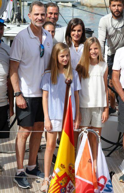 La Familia Real española en una imagen de archivo./Gtres