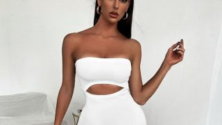 Shein clona, por 5 euros, el vestido más sexy que luce Kylie Jenner en sus redes