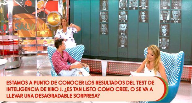 El resultado del test de inteligencia de los colaboradores de 'Sálvame' / Telecinco