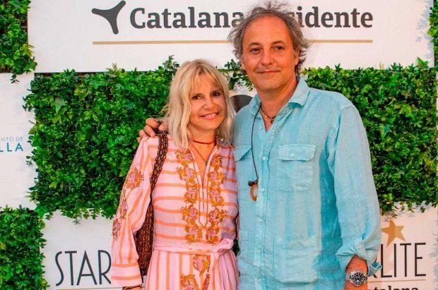 Eugenia Martínez de Irujo y Narcís Rebollo, en el concierto de Rosario Flores en Marbella / Gtres