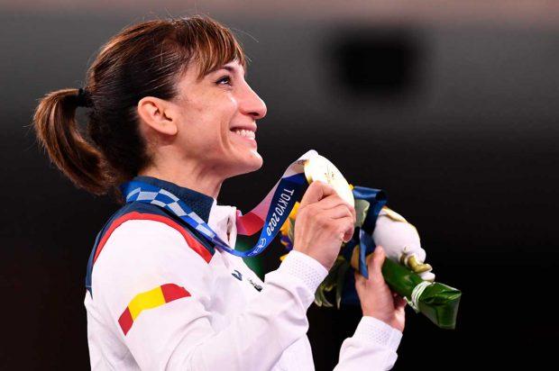 Sandra Sánchez, medalla de oro de kata en Tokio 2020 / Gtres
