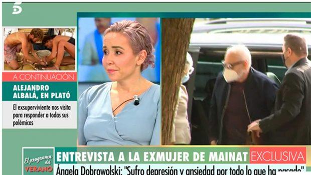 Ángela Dobrowolski, exmujer de Mainat / Telecinco