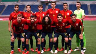 Los jugadores de la selección olímpica de fútbol / Gtres