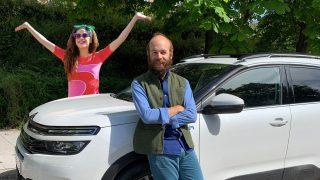 Cósima y Tristán Ramírez, los hijos de Ágatha Ruiz de la Prada / Citroën
