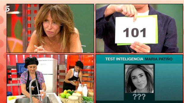 Kiko Hernández muestra los 101 puntos de coeficiente intelectual de María Patiño / Telecinco
