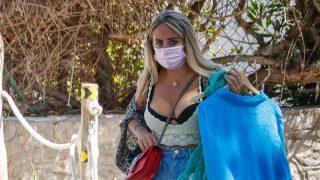 Rocío Flores, lujo y trabajo en Ibiza/Gtres