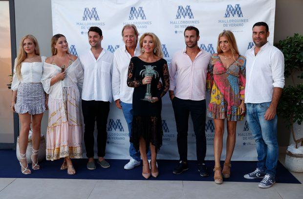 Norma Duval, Matthias Khün, Marco y Christian Ostarcevic, Paula y Andrea Paredes
