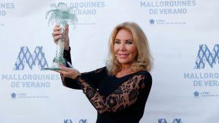 Norma Duval recibe el premio 'Mallorquina del Verano 2021'/Gtres