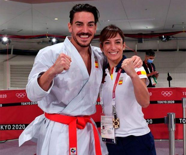 Sandra Sánchez, Damián Quintero