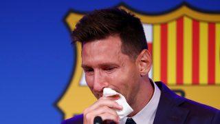 Messi, roto en su despedida del Barcelona/Gtres