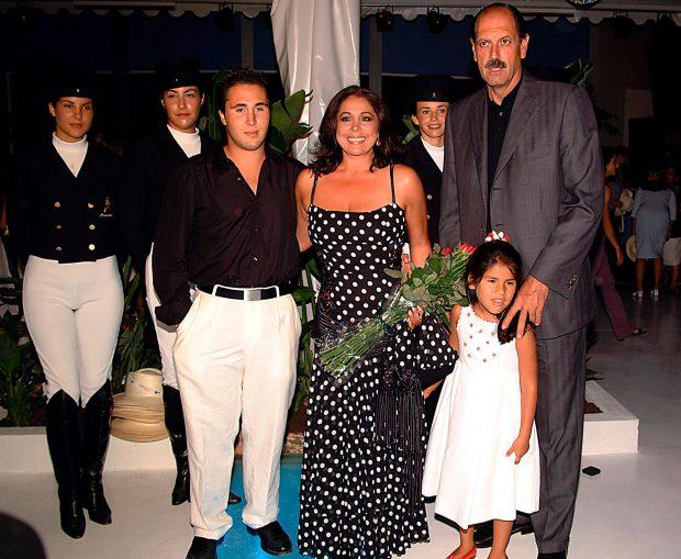 Isabel Pantoja, Diego Gómez, Kiko Rivera, Isa Pantoja