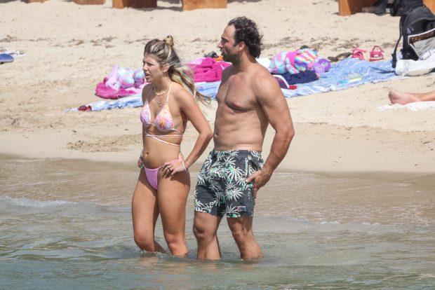 Anita Matamoros y Nacho Santandreu, en Ibiza / GTRES