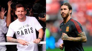 Messi y Sergio Ramos/Gtres