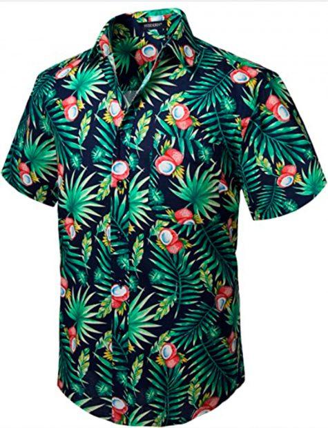 En Amazon también se venden camisas hawaianas a precios asequibles