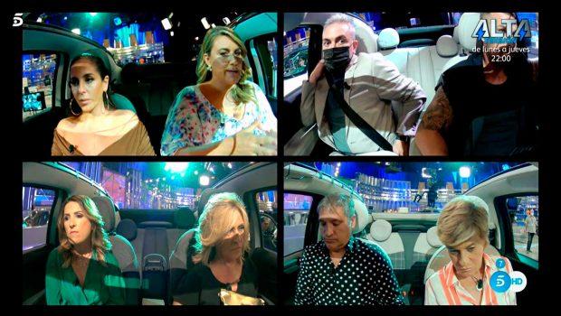 Anabel Pantoja, Carlota Corredera, Kiko Hernández, Rafa Mora, Laura Fa, Lydia Lozano, Gustavo González, Chelo García-Cortés