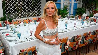Carmen Lomana, durante la celebración de su cumpleaños / Gtres