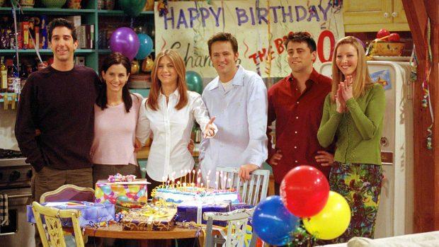 David Schwimmer, Courtney Cox, Jennifer Aniston, Matthew Perry, Mat LeBlanc, Lisa Kudrow